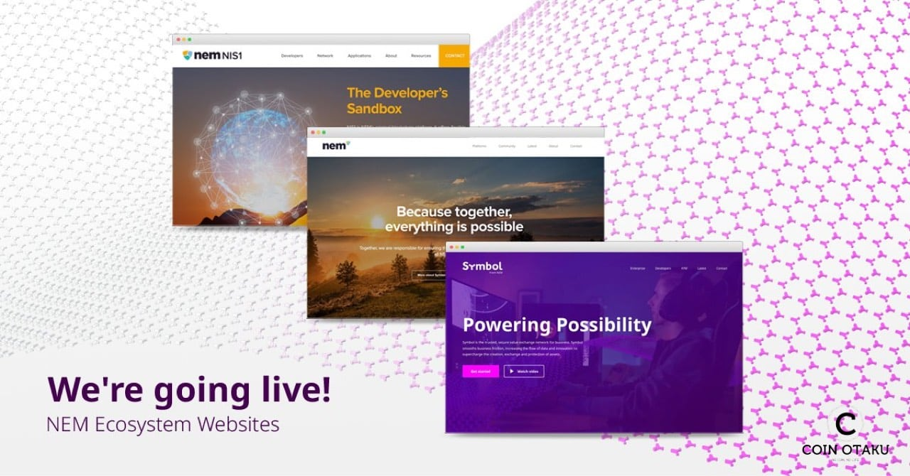 NEM、新たなウェブサイトと2020年度マーケティングプランを公開