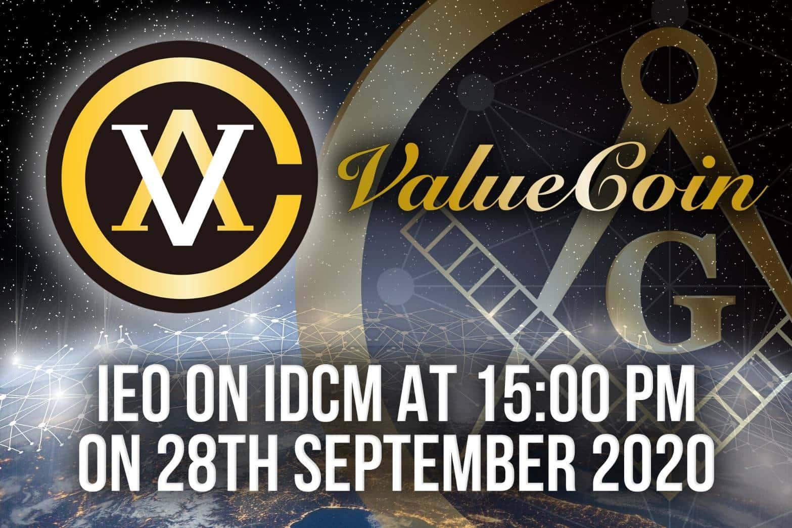 ValueCoinの第二回目IEOがIDCM取引所(台湾)から開始