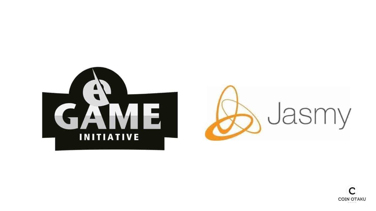 eGame、Jasmyとプロジェクトパートナーへ
